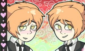 The twins by cadaverr