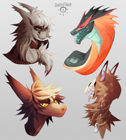 Headshots by Dusty-Demon