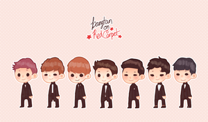 Pretty boys Bangtan by Mulbyeongjali