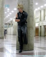 Cloud Strife: Lone Wolf by key0fdestiny13
