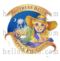 Apple Pie Cider Logo by helloheath