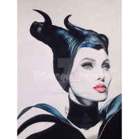 Maleficent by bianqui-creates