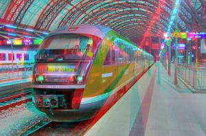 Local Train HDR 3D by zour