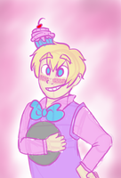 trickster? Nah he's just a 2p. by kittychan1997