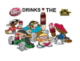 Kids Next Door are DRINK DR. P by delmardavis