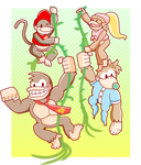 DKC Festival Group by tunetherainbow