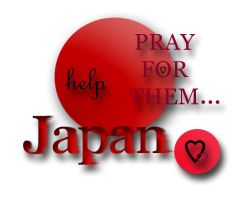 Pray for JAPAN ... by Eyocore