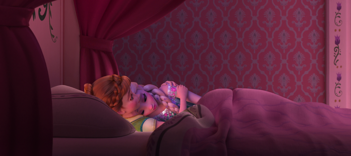 Anna comforting Elsa by TeleVue