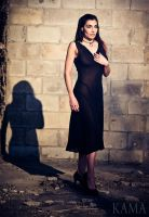 Anyssa black dress by Kama-Photography
