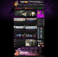 Banhammer Homepage Layout by SEBEKK