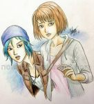Chloe and Max by noelzzz
