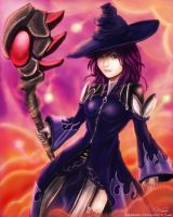Eve: The Violet Witch by zamboze