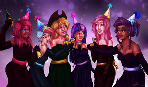 Happy New Years by Cqal