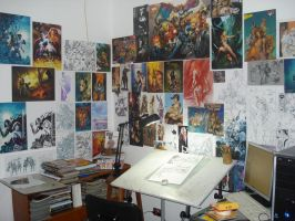 my studio by Adrianohq