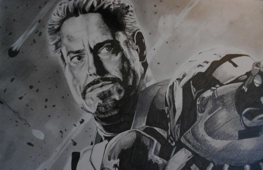 Another view of Iron Man by CarbonData