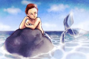 Mermaid Morty by Gintijd