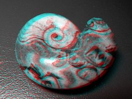 3D Shell Anaglyph by nikishka