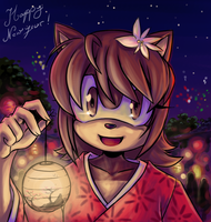 Happy New Year 2009 by Merokosart