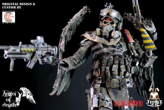 Calvin's Custom X 7TOYS7 06: ANGEL Of DEATH by CalvinsCustom