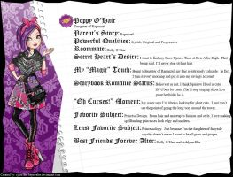 Ever After High - Poppy O'Hair's Full Bio v3 by cjlou-the-bejeweler