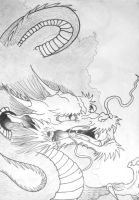 Chiniese Dragon by Absinthe-Addiction