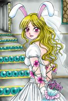 Bride Rabbit Collor by yamanecandy
