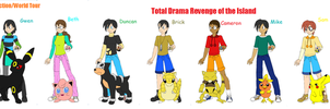 Total Drama Heroes Pokemon by Britishgirl2012