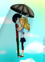 Fionna x Marshall Lee by Gretechan