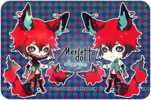 Auction : Merletto Doll Deoym Species 1 [CLOSED] by HyRei