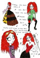 Me In Tim Burton's Style vol 2 by FairyNaiad