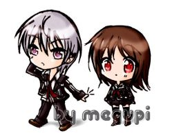 Zero and Yuki . Vampire Knight by MegumiLoves