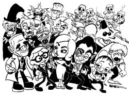Mad Monster Party by JoJo-Seames