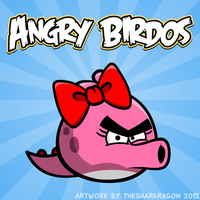 Angry Birdos by TheSharkMaster