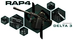 RAP4 Delta 3 by RealActionPaintball