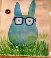 Mini Totoro by AnimeLover00001