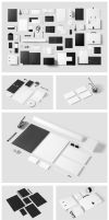 Corporate Stationery Branding Mock-Up by forgraphic