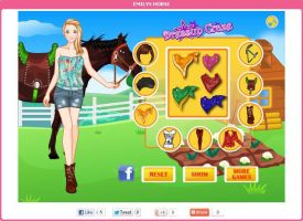 Dressup for Emilys Horse by willbeyou