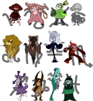 The Western Zodiac by Obsequious-Minion