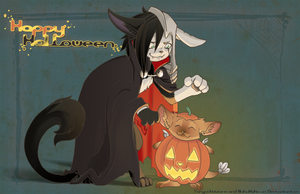 Happy Halloween 2012 Collab by MahoHaku