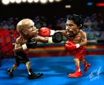 Mayweather vs Pacquiao by vp021