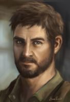 Joel The Last of Us by feavre