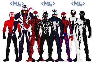 Symbiotes by MetalLion1888
