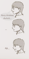 Merry christmas, sherlock. by Somichu