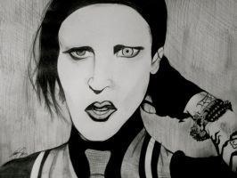 Mr. Manson by Mspadfoot333