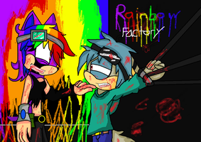Contest for *BloodyDeathDream rainbow factory by keopuolani
