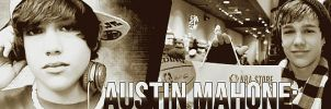 Banner Austin Mahone. by playingQuidditch
