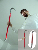 Half Life Crowbar (How To Quick Tutorial) by StevenCojo