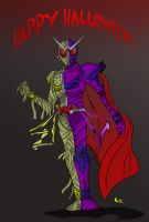 Kamen Treater - Zombie Vampire by Justicity-Comics