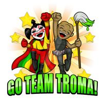 Go Team Troma by ZombieGirl01