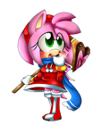 .Chibi Holiday Amy. by Sammi-Arts